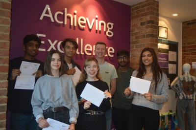 Best ever AS Level Results for Webber Independent's Enterprising Students