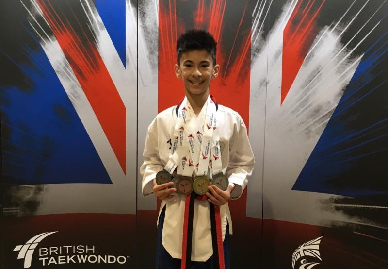 Student Zaw Torley awarded Sport Milton Keynes accolade for Taekwondo achievements