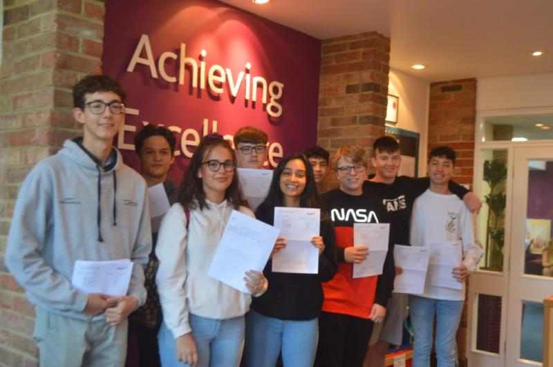 GCSE success for Webber Independent students