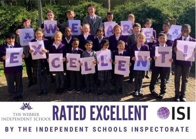 Webber Rated Excellent in the Recent ISI Inspection.