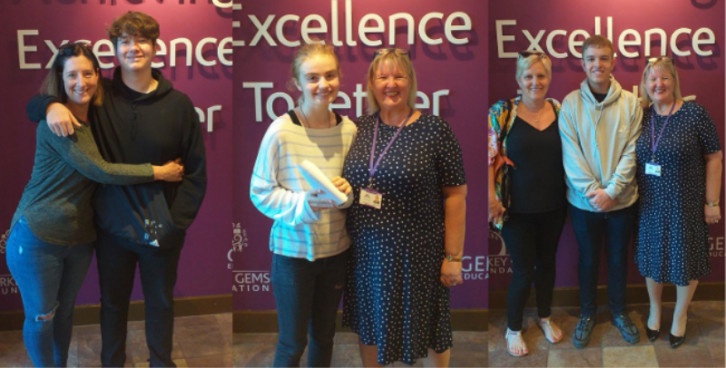 Webber School celebrate GCSE success after a period of uncertainty